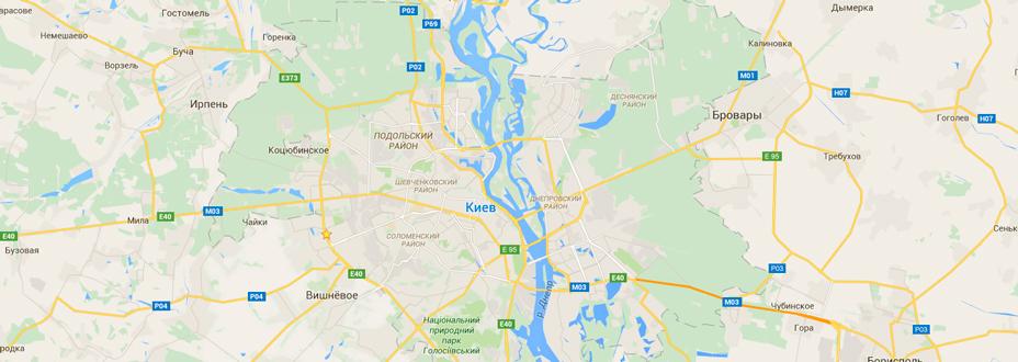 грузоперевозки по Киевской области